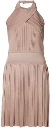 Balmain halter neck dress