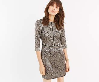 Oasis JACQUARD SHIFT DRESS