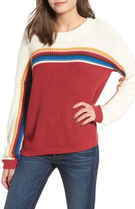 Rip Curl Rise and Shine Stripe Sweater