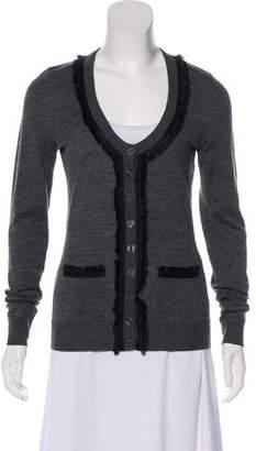 Dolce & Gabbana Long Sleeve Button Up Cardigan