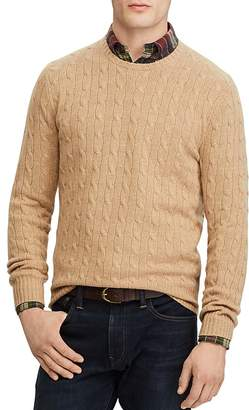 Polo Ralph Lauren Cable-Knit Cashmere Crewneck Sweater
