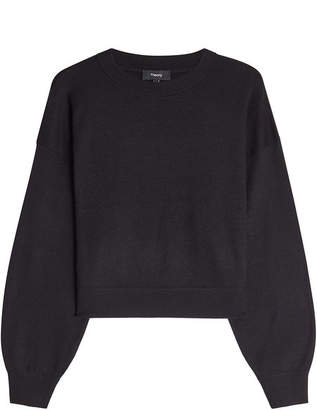 Theory Pullover with Silk and Cashmere