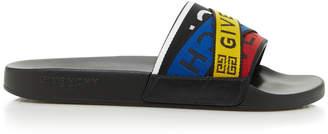 Givenchy Logo Slide Flat Sandal