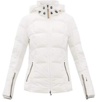 Bogner Sanne D Down Filled Ski Jacket - Womens - White