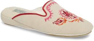 Patricia Green Rosa Embroidered Slipper