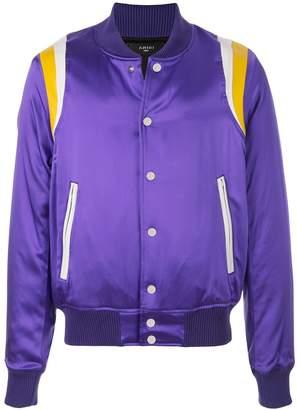 Amiri varsity baseball bomber jacket
