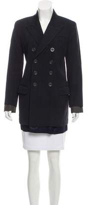 Jean Paul Gaultier Structured Wool Blazer