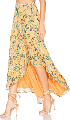 House of Harlow x REVOLVE Robin Skirt $168 thestylecure.com
