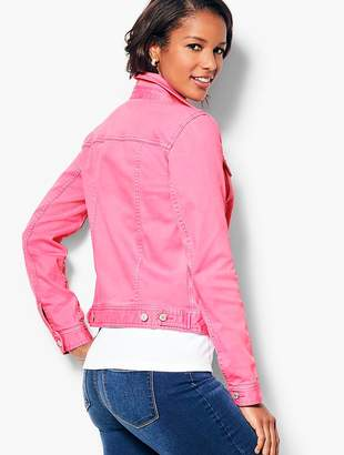 Talbots Classic Jean Jacket - Colored