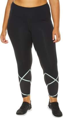 SHAPE Activewear Cross Check Compression Leggings