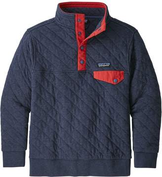 Patagonia Kids' Organic Cotton Quilt Snap-T Pullover