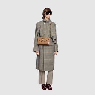 Gucci Wool coat with detachable scarf