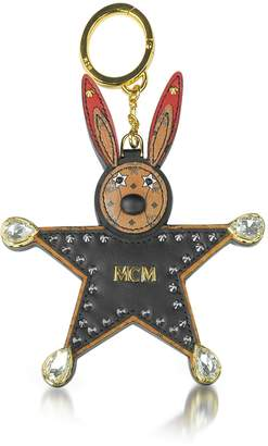 MCM Black Star Rabbit Charm