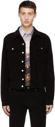 Acne Studios Bla Konst Black Corduroy Tent Jacket