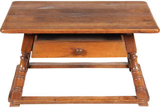 One Kings Lane Vintage 19th C. Austrian Work Bench/Coffee Table