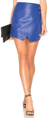 Blank NYC BLANKNYC Vegan Leather Snap Skirt