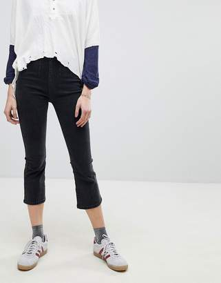 Free People Ultra High Kick Flare Jeans