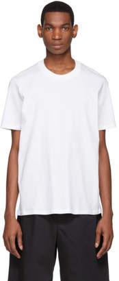 Jil Sander White Round Neck T-Shirt