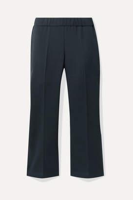 Hatch The Lyric Cotton-blend Straight-leg Pants - Midnight blue