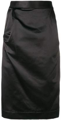 Vivienne Westwood draped pencil skirt