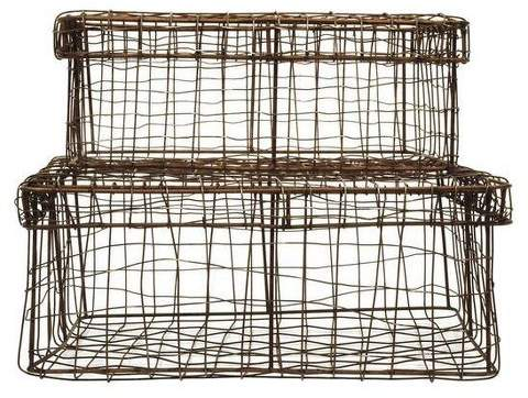 3R Studios Wire Baskets with Lids
