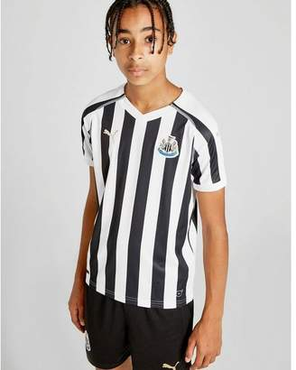 Puma Newcastle United FC 2018/19 Home Shirt Junior