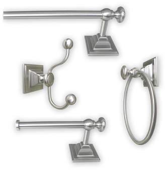 Harmon Jollen Home Creation 4-Piece Bathroom Hardware Set