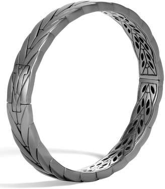John Hardy Modern Chain Black Rhodium Bangle