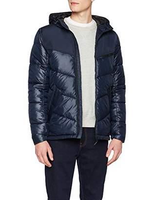 Tom Tailor Men's Outdoor Jacke Mit Modischer Breiter Steppung Jacket, (Sky Captain Blue 10668), X-Large