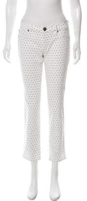 DL1961 Mid-Rise Printed Jeans