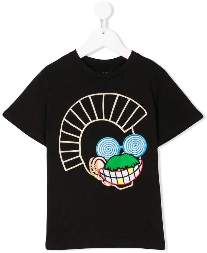 Arlo velcro patches T-shirt
