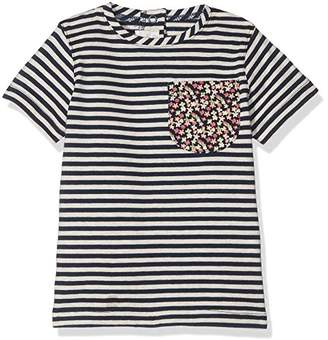 Mamas and Papas Mamas Papas Baby Girls' Pocket Detail Tee T-Shirt,0-3 Months