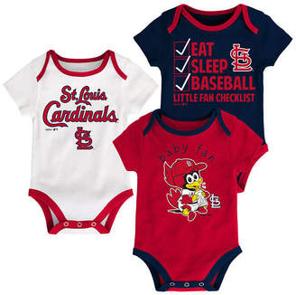 Outerstuff St. Louis Cardinals Play Ball 3-Piece Set, Infants (0-9 Months)