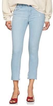 J Brand Women's 835 Mid-Rise Capri Skinny Jeans