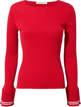 Philosophy di Lorenzo Serafini Bell Cuff Red Sweater