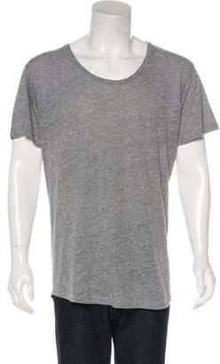 John Elliott Longline Scoop Neck T-Shirt