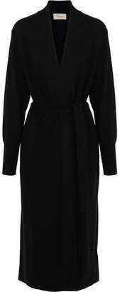 Temperley London Long Shaw Wool And Cashmere-Blend Cardigan