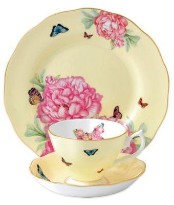 Miranda Kerr for Royal Albert 3-Piece Joy Tea Set