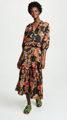 DAY Birger et Mikkelsen Warm Long Sleeve Tiered Dress