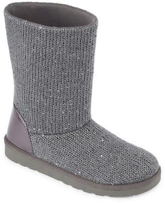 Arizona Womens Sleet Flat Heel Pull-on Bootie