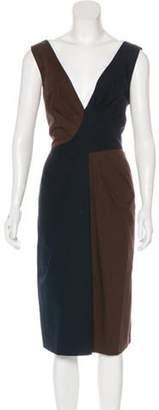 Alberta Ferretti Sleeveless Midi Dress Sleeveless Midi Dress