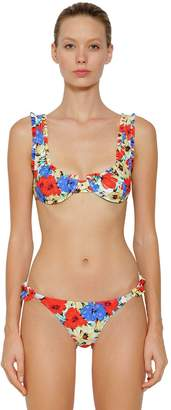 Jessica Printed Frill Balconette Bikini