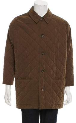 Hermes Quilted Car Coat