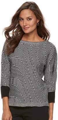 Dana Buchman Women's Boatneck Sweater