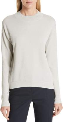 BOSS Funday Metallic Wool Blend Sweater