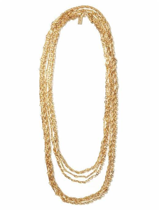 Tuleste Market Extended Multi strand Necklace