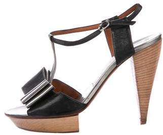 Lanvin Patent Leather High-Heel Sandals