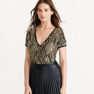 Ralph Lauren Cutout-Shoulder Sweater $125 thestylecure.com