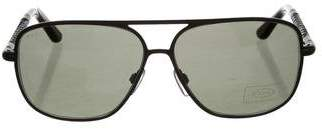 Tod's Aviator Tinted Sunglasses