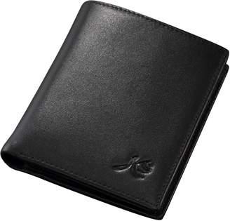 K&S KS KB008 New Luxury Men's Slim Fashionable Leather Bifold Wallet Card Holder